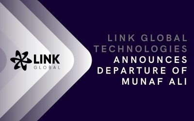 Link Global Technologies Announces Departure Of Munaf Ali